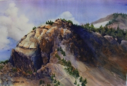 Earth 15 x 22 Original Watercolor